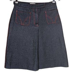 Kookai wool blend mini skirt size EU 42 womens 14